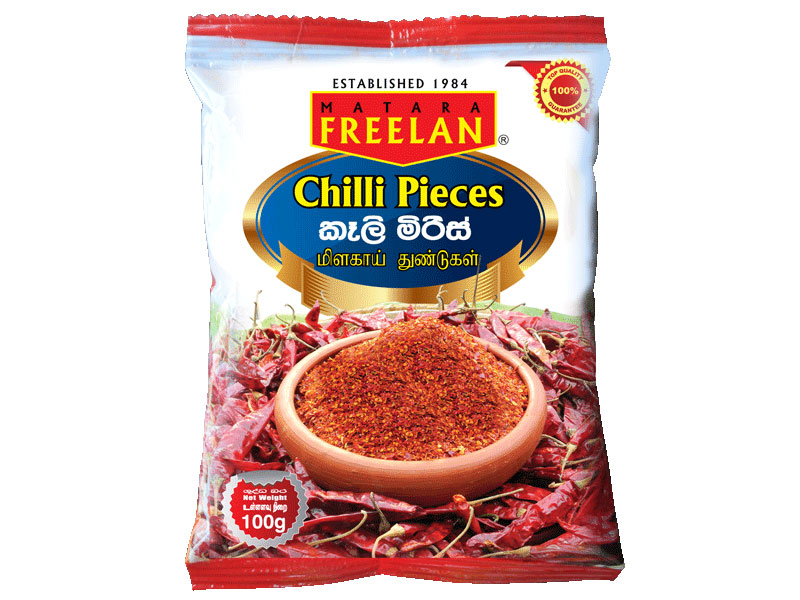 Chilli Pieces pkt